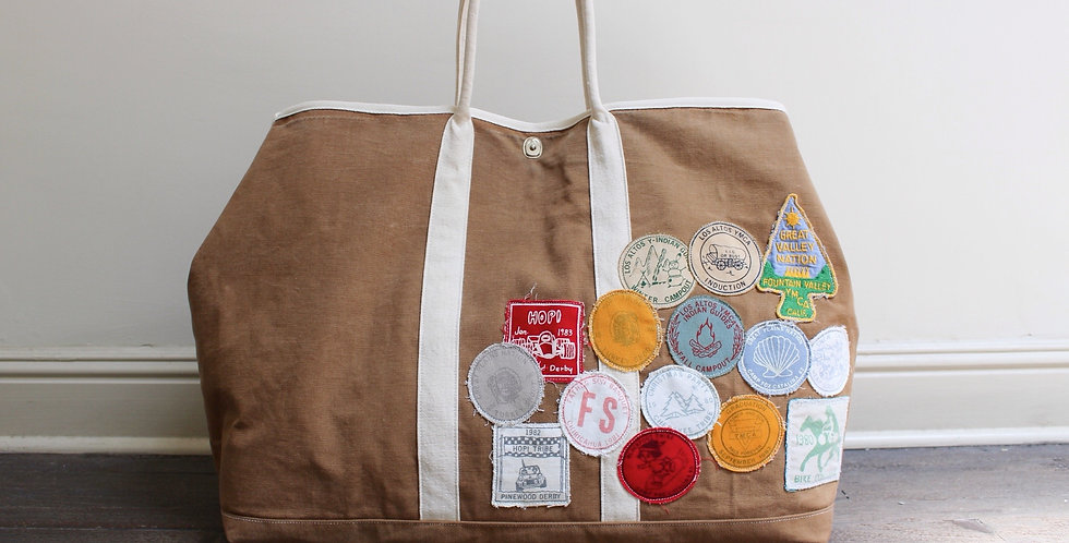 Vintage scout market bag