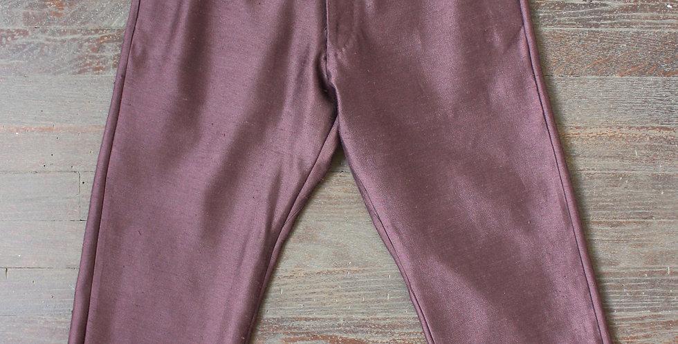 vintage wine purple trousers XS