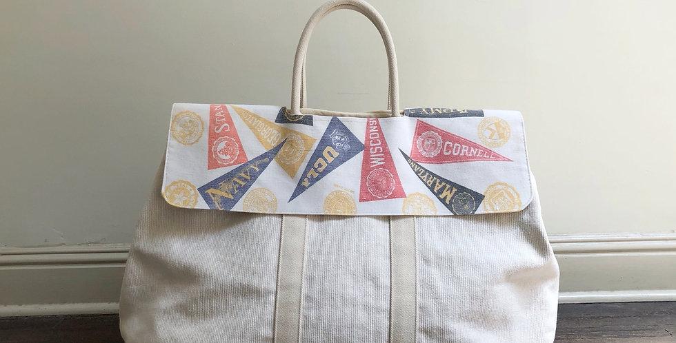 collage market bag