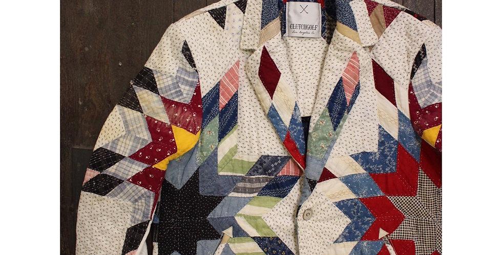 vintage quilt jacket