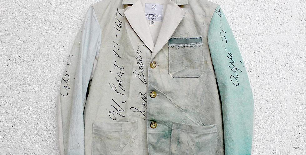 Reused Jacket M <Green lake>