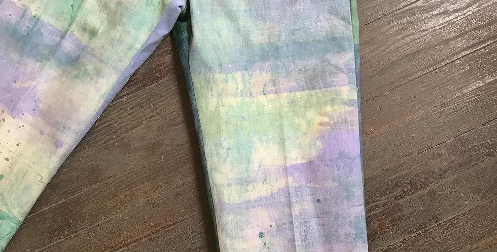 TETO project vintage test canvas trousers