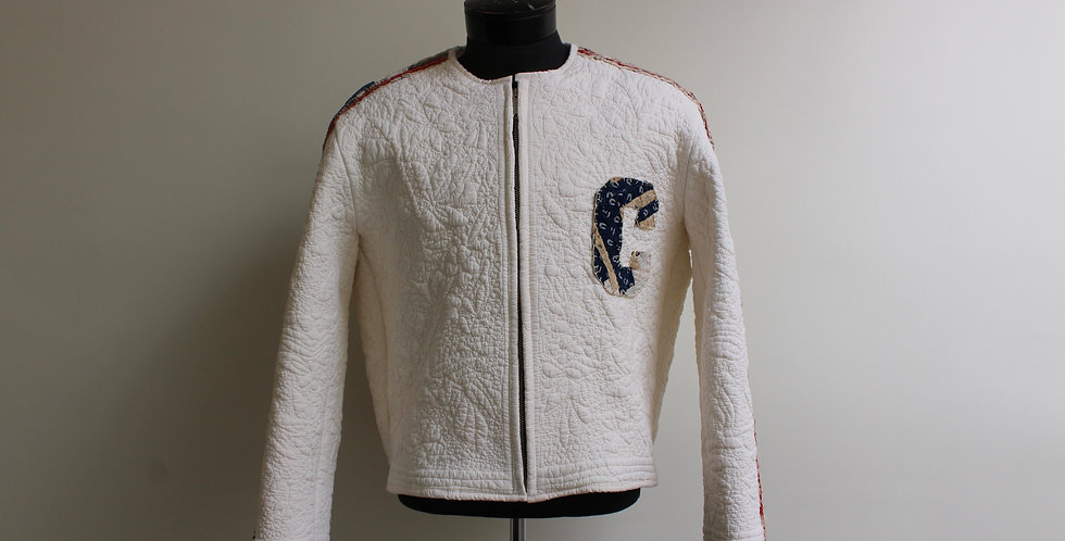 quilt racing style jacket