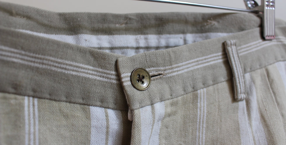 20s french trousers two pleated