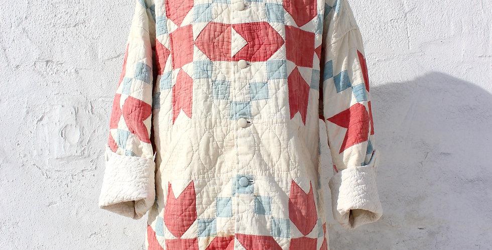 Antique Quilt Golf Cart Coat [ arrows ]