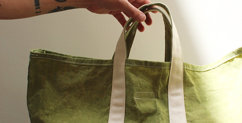 Wax Canvas Tote Olive