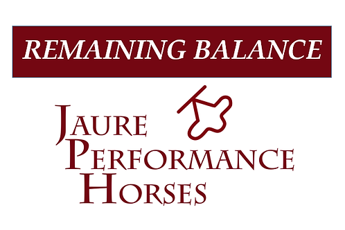 Remaining Balance - Stallion Service