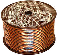 Speaker Wires CCA (Options: 250 to 1000ft; 12 to 16Ga)