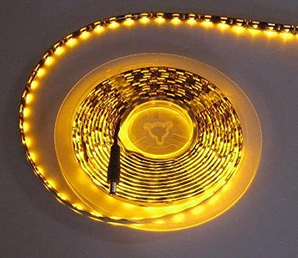 Edge LED Strip, 335 SMD, 5M, 300LED, Amber, Waterproof