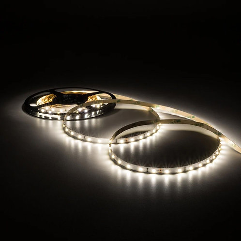 LED Strip, 3528 SMD, 5M, 300LED, Cold White, Waterproof