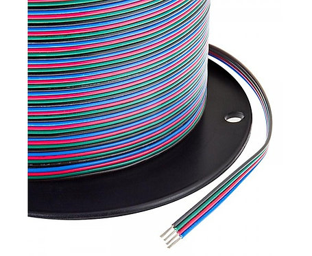 22 Ga 4 Colors Flat 328ft  CCA Wire