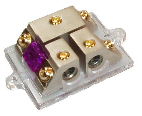 Compact Mini ANL Fuse Distribution 1x4Ga to 2x4Ga
