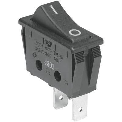 Rocker switch, On/Off, 2 Pin, Big
