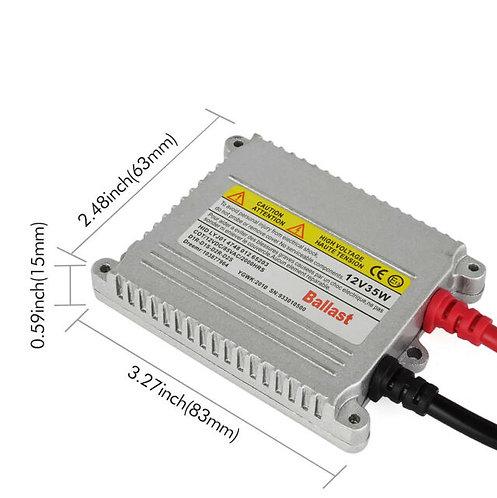 HID Ballast, Silm Digital 35W, AC, Pair, OneYearWarranty