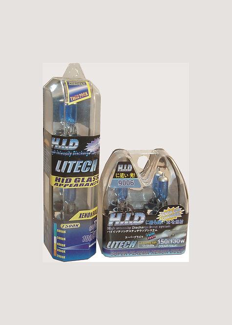 Halogen Headlight Bulbs, 12V/100W, H13, Pair