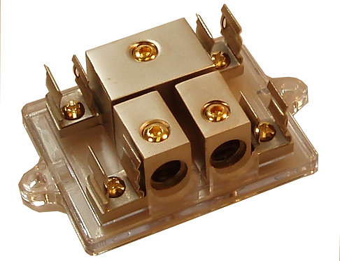 Compact AGU Fuse Distri. Block 1x4Ga to 2x4Ga