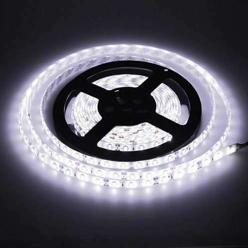 LED Strip, 5050 SMD, Cold White, 5M, 300LED,  Waterproof