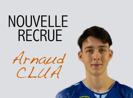 Arnaud CLUA : Nouvelle recrue