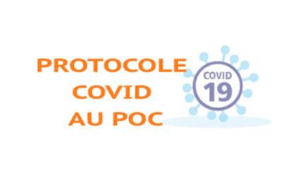 Protocole COVID au POC