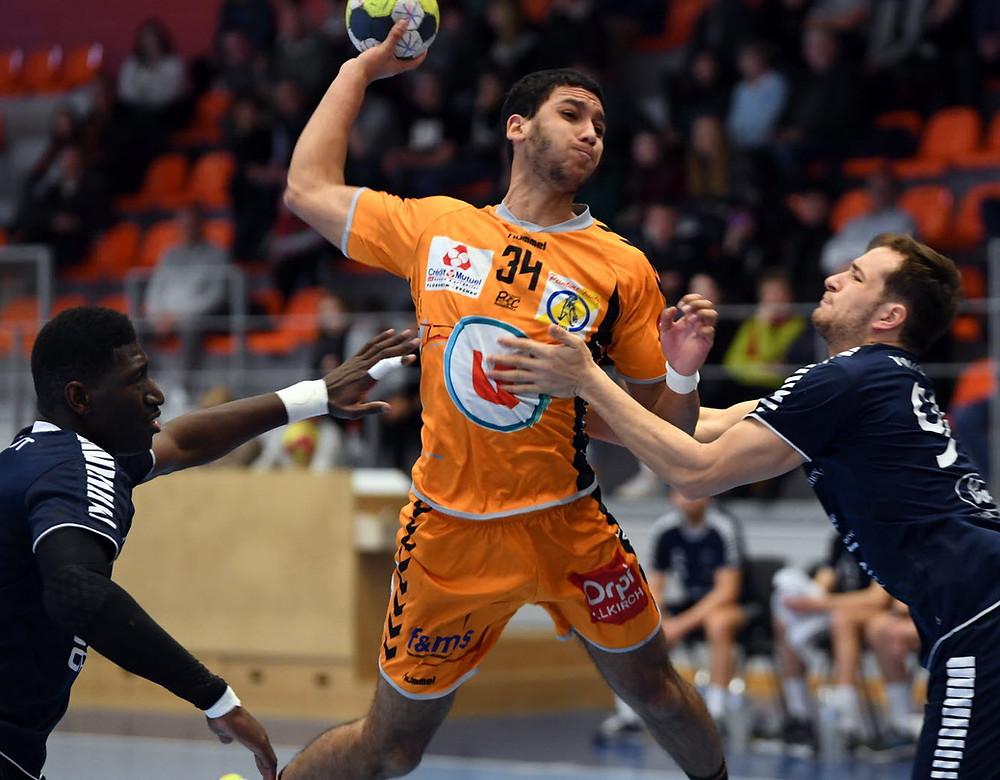 Lenny Bouhzam et ses coéquipiers n'y arrivent décidément pas à la POC Arena. Photo DNA /Franck DELHOMME