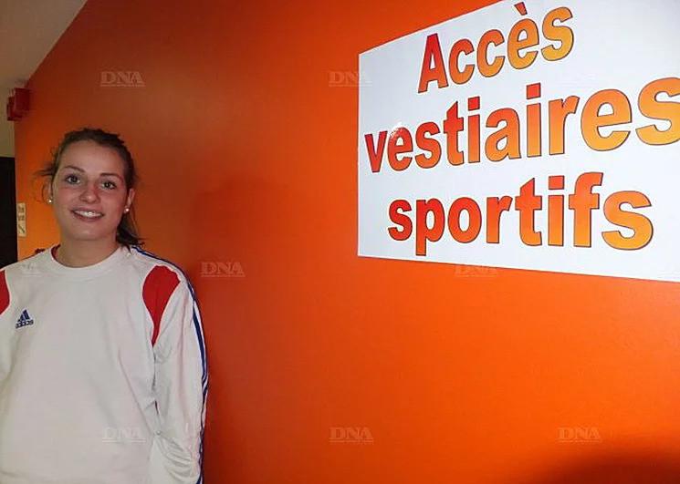 Sarah Herzog est passée de l'orange de Plobsheim à celui de l'ASPTT. PHOTO DNa – Ch. A.