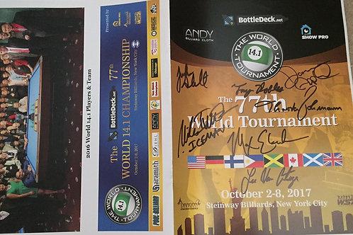 World Straight Pool Championship Program Book
