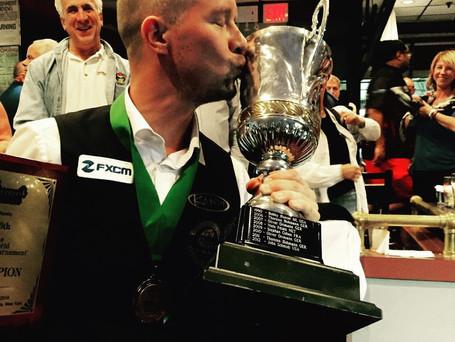 Mika Immonen is the 76th World 14.1 Champion