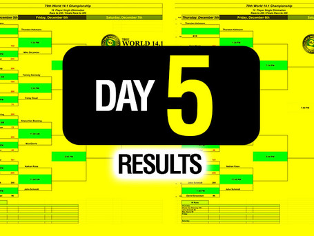 Day 5 - 79th World 14 1 Bracket - 12-6-19