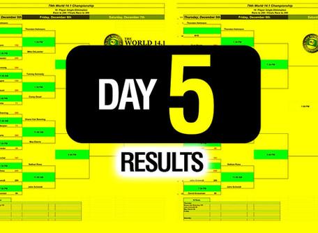 Day 5 - 79th World 14 1 Bracket - 12-6-19