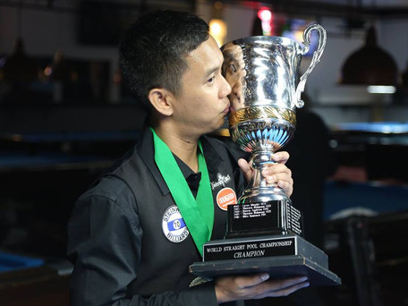 Lee Van Corteza Makes History: First Asian World 14.1 Champion