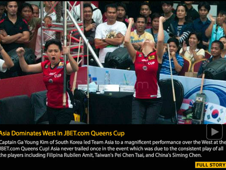 Asia Dominates West in JBET.com Queens Cup