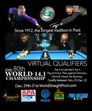 80th World 14.1 Championship: Social Distance Edition