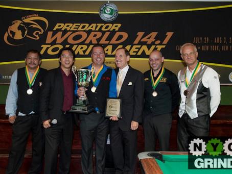 America's John Schmidt is the World Tournament of 14.1 Champion