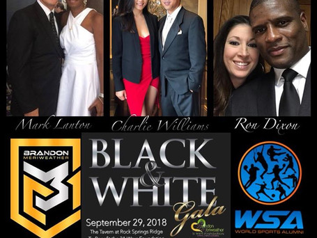Black & White GALA for The Brandon Meriweather 31 Ways Foundation