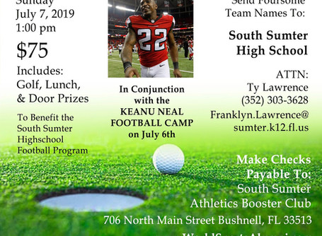 Keanu Neal Charity Golf Classic on July 7