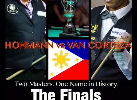 The Finals: Hohmann vs Van Corteza for World 14.1 Title Today