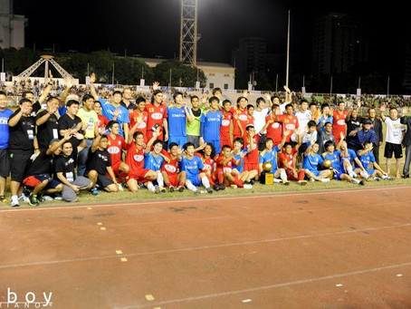 Dragon Promotions & ABS-CBN Raise $50,000 for Charities in Philippines vs Korea Football Game