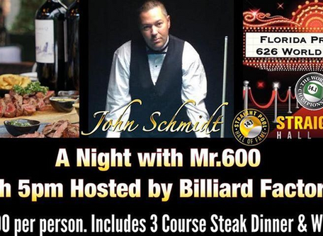 Sunday Dec 8th: A Night with Mr.600