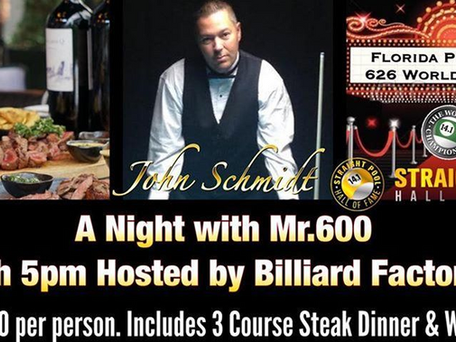 Sunday Dec 8th: A Night with Mr.600