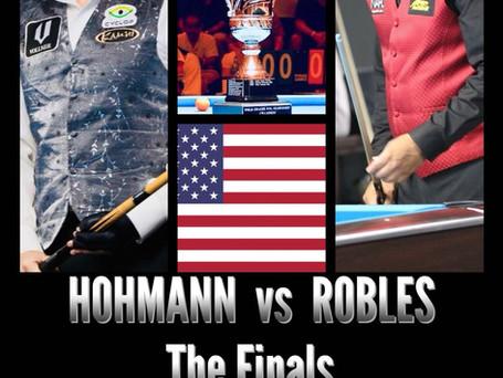 Hohmann Vs Robles - The FINALS is set!