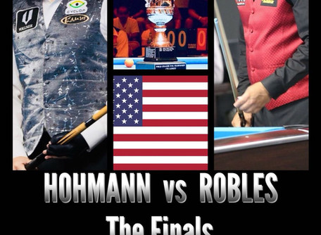 Hohmann Vs Robles - The FINALS is set!