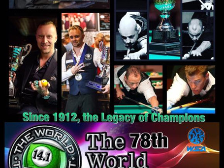 2018 World 14.1: Group draw 1-5