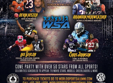 The Celebrity PRO BOWL Party January 25, 2019