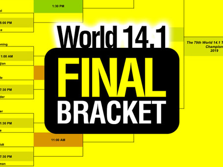 FINAL Bracket - 79th World 14.1