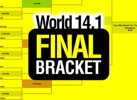 FINAL Bracket - 79th World 14.1