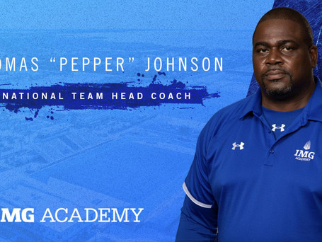 5-Time Super Bowl Champion Pepper Johnson Selected as IMG Academy Head Coach