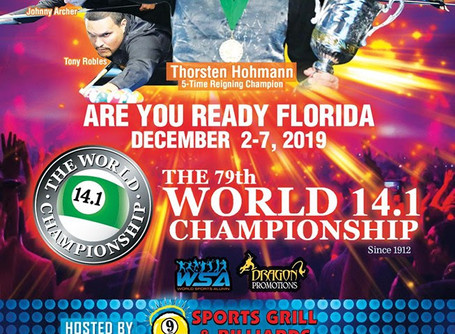 107 Year Oldest World Billiards Championship Comes to Jacksonville Florida
