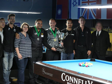 Chasing Mosconi: Hohmann Wins His 5th World Straight Pool Championship