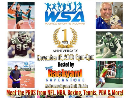 Melbourne's Biggest Celebrity Event Ever! WSA Anniversary Party at Your Backyard Superstore