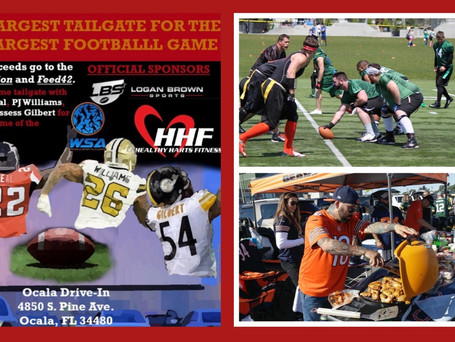 Super Tailgate Party w/NFL Stars & Flag Football at Ocala Drive-In Theatre
